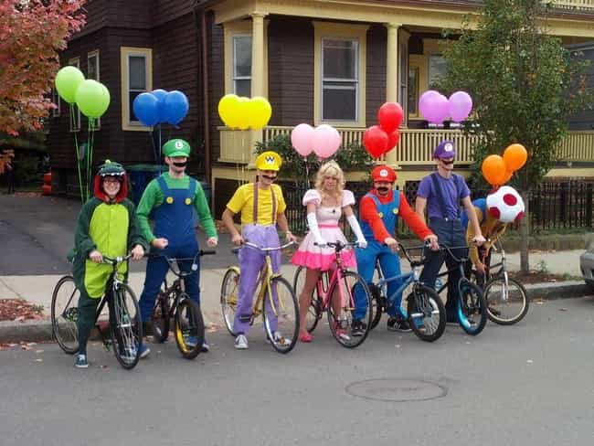 mario kart is listed or ranked 1 on the list awesome halloween costumes ideas