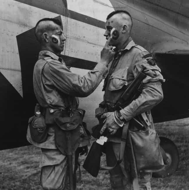 Paratroopers Prepare to Jump I... is listed (or ranked) 4 on the list Old School Pictures from World War 2