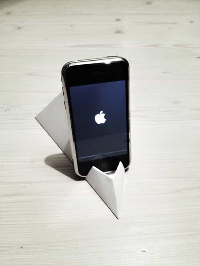 Phone Stand is listed (or ranked) 1 on the list Origami You Can Use in Everyday Life