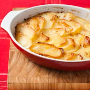 Scalloped Potatoes is listed (or ranked) 12 on the list The Most Delicious Thanksgiving Side Dishes