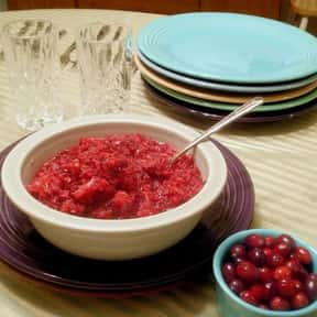 Fresh Cranberry Sauce is listed (or ranked) 24 on the list The Most Delicious Thanksgiving Side Dishes