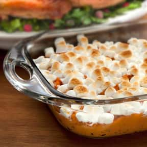 Sweet Potato Casserole is listed (or ranked) 11 on the list The Most Delicious Thanksgiving Side Dishes
