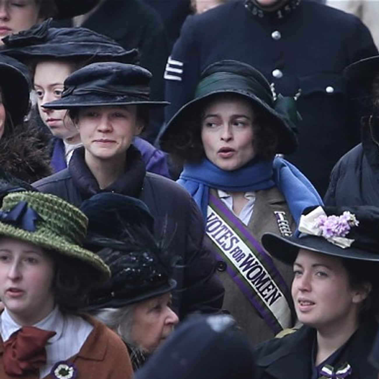 Deeds, Not Words is listed (or ranked) 2 on the list Suffragette Movie Quotes