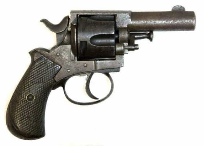 Webley British Bulldog .... is listed (or ranked) 2 on the list Famous Assassination Weapons From History