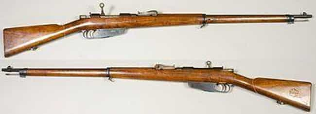 6.5 mm Carcano Model 91/38 Car... is listed (or ranked) 4 on the list Famous Assassination Weapons From History