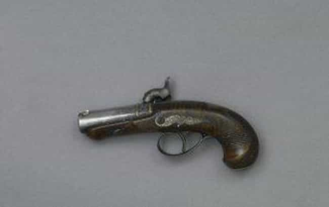 Single-Shot .44 Caliber ... is listed (or ranked) 1 on the list Famous Assassination Weapons From History