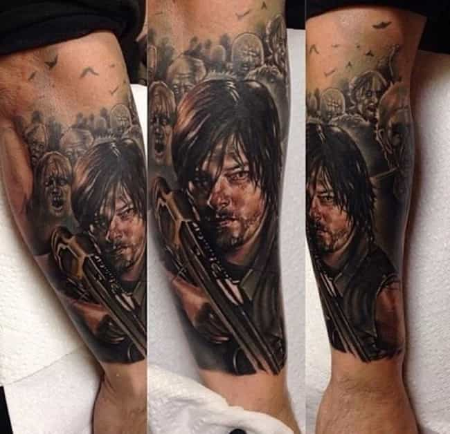 25 Incredible Tattoos Inspired By The Walking Dead