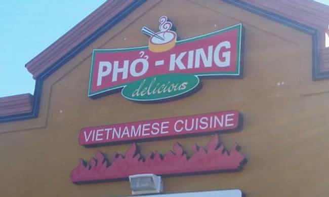 "When ""Delicious"" Doesn... is listed (or ranked) 2 on the list The Most Un Pho Gettable Pho Restaurant Puns"