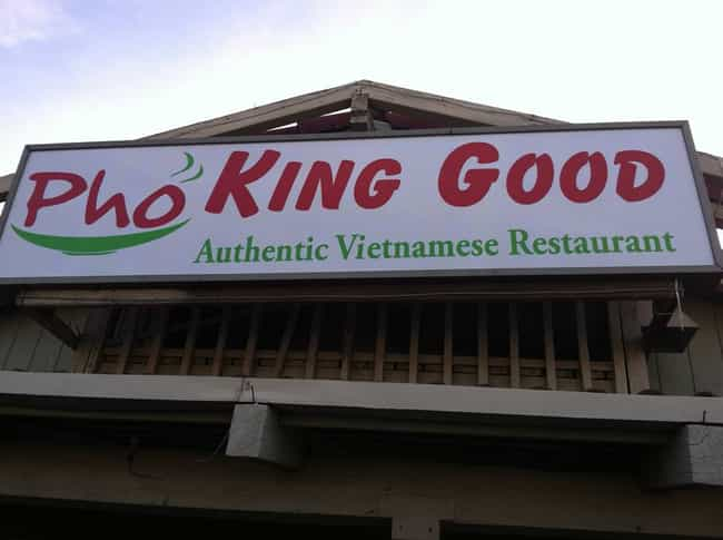 How Good Is Your Food? is listed (or ranked) 1 on the list The Most Un Pho Gettable Pho Restaurant Puns