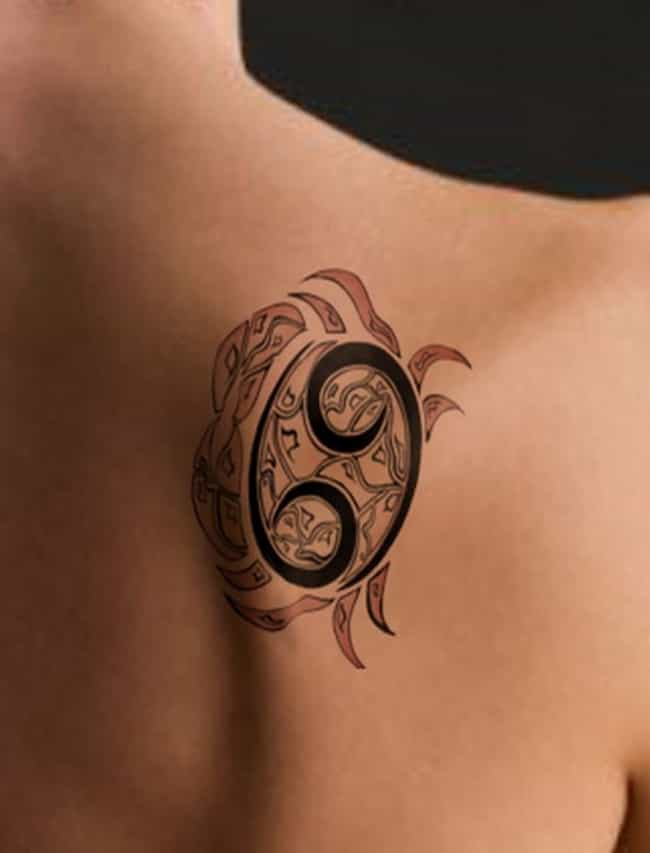 7835c52b3 Symbol Makes Great Shell is listed (or ranked) 1 on the list Cancer Tattoo