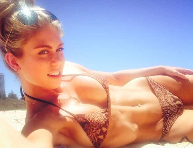 Sun Soaked is listed (or ranked) 23 on the list The Hottest Fitness Babes of All Time