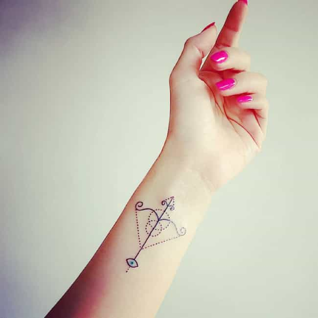 Sagittarius Tattoos Ideas For Sagittarius Tattoo Designs