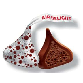 Hershey's Air Delight Kiss is listed (or ranked) 19 on the list The Best Hershey's Kisses Flavors