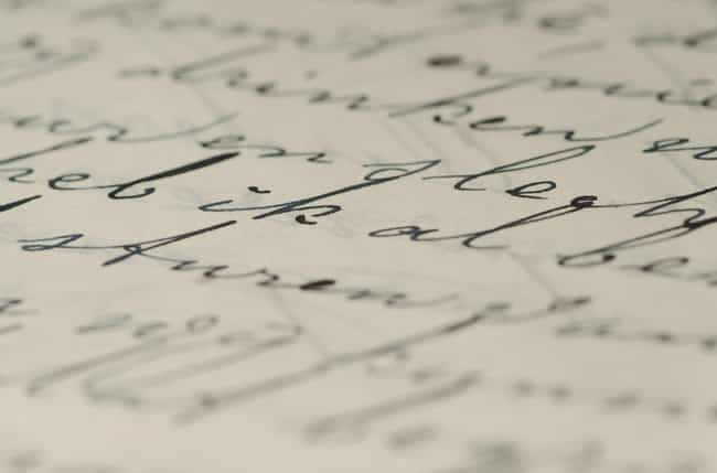 A Handwritten Letter From The ... is listed (or ranked) 2 on the list 28 Facts You May Not Know About The 'Titanic'