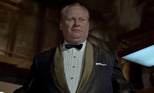 Auric Goldfinger in