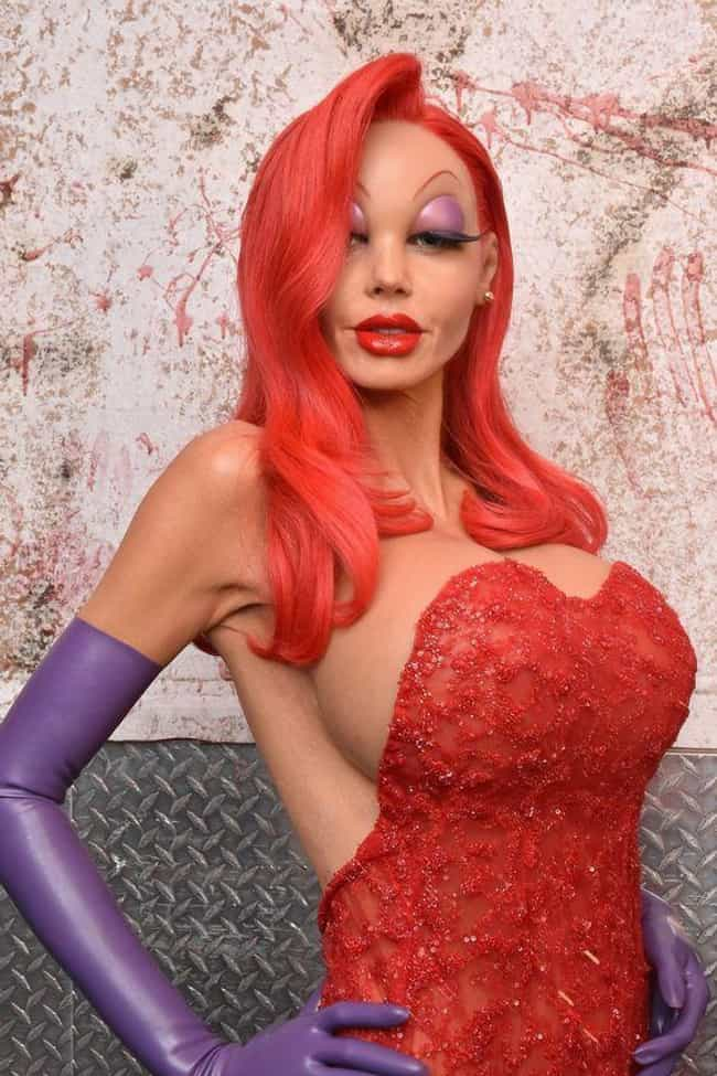 Heidi Klum As Jessica Rabbit is listed (or ranked) 4 on the list The Greatest Celebrity Halloween Costumes Of All Time