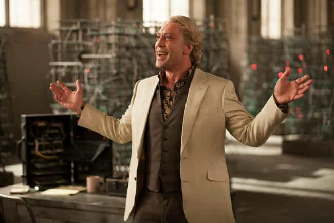 "Raoul Silva in ""Skyfall&#3... is listed (or ranked) 3 on the list Every Bond Villain Plan, Ranked by Insanity"