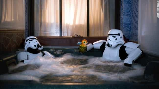 Sometimes You Just Need to Unw... is listed (or ranked) 1 on the list 16 Star Wars Photos That Will Make You Love Stormtroopers