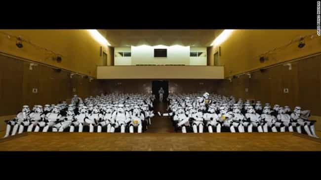 Did They Get a Group Rate or S... is listed (or ranked) 4 on the list 16 Star Wars Photos That Will Make You Love Stormtroopers