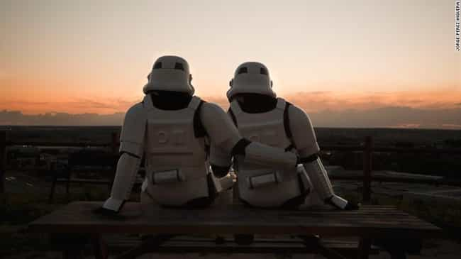 A Tender Moment is listed (or ranked) 6 on the list 16 Star Wars Photos That Will Make You Love Stormtroopers