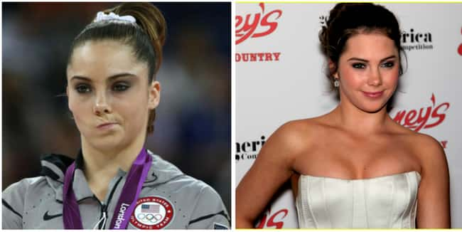McKayla is Not Impressed is listed (or ranked) 22 on the list 25 Stories of the Real People Behind Memes