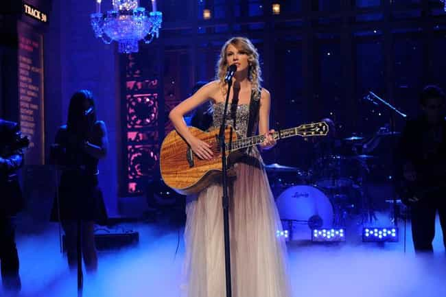 She Was the First SNL Host to ... is listed (or ranked) 4 on the list Fun Facts You Didn't Know About Taylor Swift
