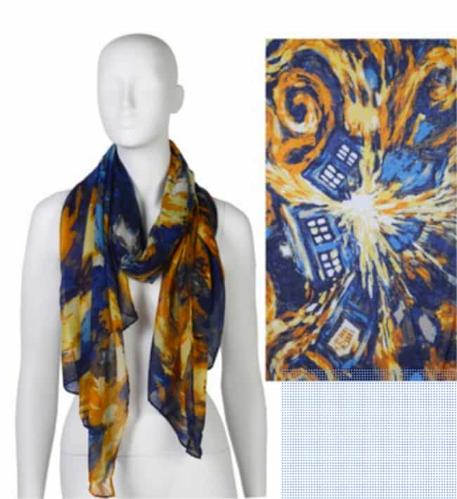 Van Gogh Exploding Tardi... is listed (or ranked) 4 on the list 20 Doctor Who Gifts You Didn't Know Existed