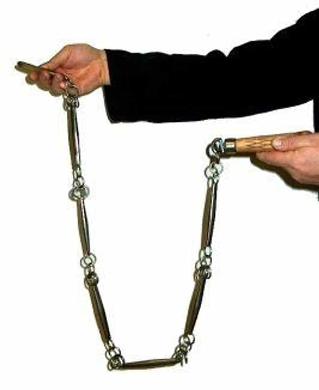 Nine Section Whip is listed (or ranked) 4 on the list The Deadliest Martial Arts Weapons