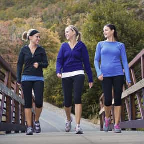 Walking (As Exercise) is listed (or ranked) 23 on the list Things That Aren't Nerdy Anymore