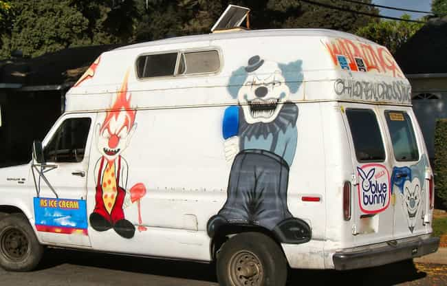 Oh Look Honey, the Insane Clow... is listed (or ranked) 3 on the list The Creepiest Ice Cream Trucks Ever