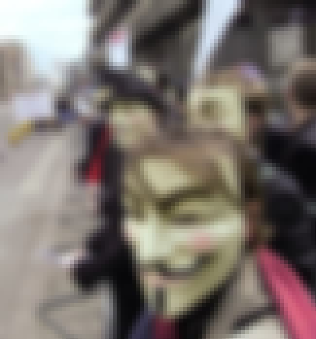 Scientology Protest in London is listed (or ranked) 2 on the list 19 Times People Have Used Guy Fawkes Masks for Their Cause