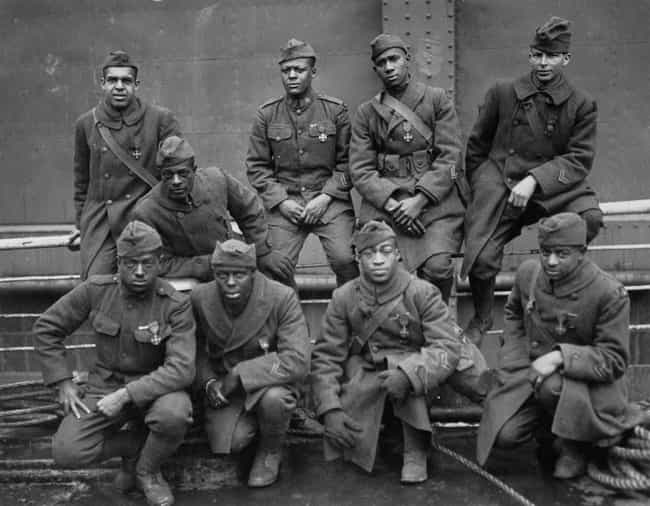 The Harlem Hellfighters ... is listed (or ranked) 1 on the list Old School World War 1 Pictures