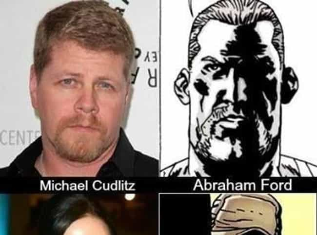 Sgt. Abraham Ford is listed (or ranked) 3 on the list 'Walking Dead' TV Characters Who Are Most Different From Their Comic Book Counterparts