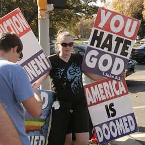 Westboro Baptist Church is listed (or ranked) 1 on the list People You Want South Park to Make Fun of