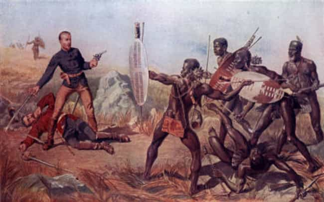 Zulu Warriors Fought While Tri... is listed (or ranked) 4 on the list 16 Terrifying Examples of Armies Hopped Up on Drugs