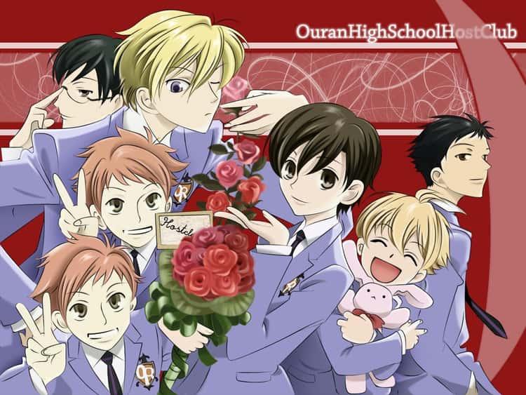 Ouran High School Cast