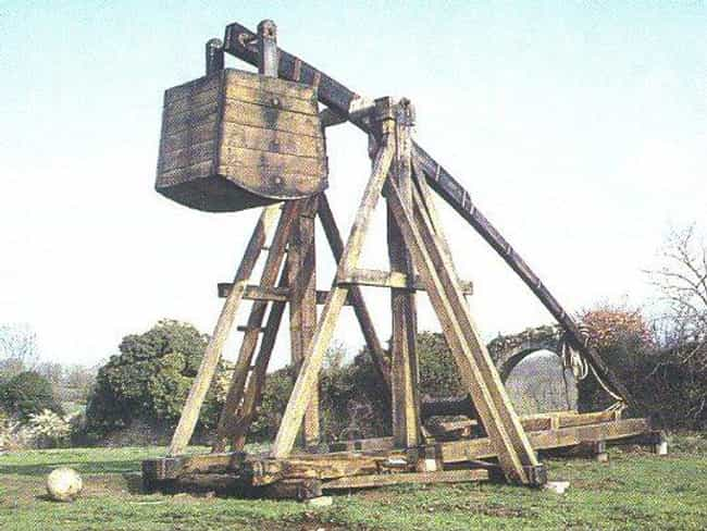 Trebuchet is listed (or ranked) 3 on the list The Coolest Artillery Pieces in History