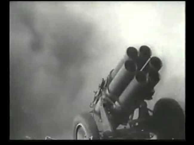 Screaming Mimi is listed (or ranked) 4 on the list The Coolest Artillery Pieces in History