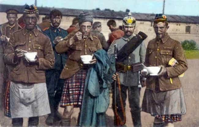 Scottish Highlanders, Ca... is listed (or ranked) 3 on the list Colorized Photos from Military History