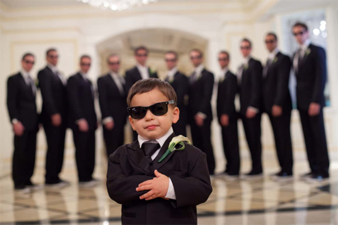 """""""Name and Photo I.D. Pleas is listed (or ranked) 3 on the list The Funniest Ring Bearer Fails of All Time"""