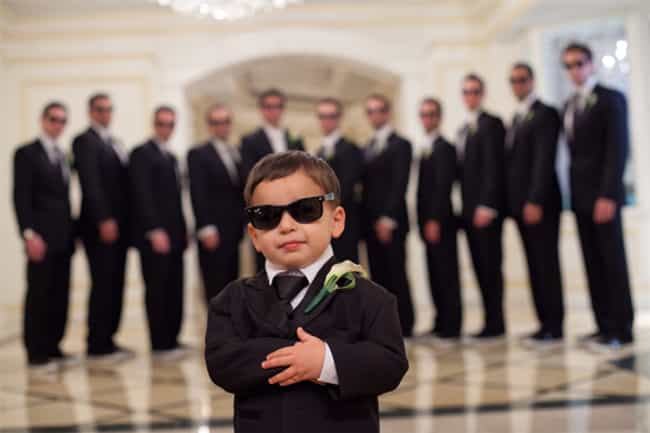 """Name and Photo I.D... is listed (or ranked) 4 on the list The Funniest Ring Bearer Fails of All Time"