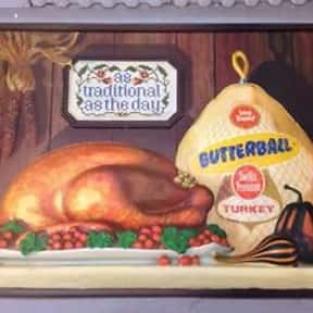 Butterball Turkey is listed (or ranked) 1 on the list The Most Nostalgia-Inducing Thanksgiving Brands