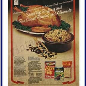 Stove Top Stuffing is listed (or ranked) 3 on the list The Most Nostalgia-Inducing Thanksgiving Brands