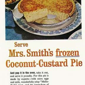 Mrs. Smith Pies is listed (or ranked) 18 on the list The Most Nostalgia-Inducing Thanksgiving Brands