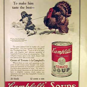 Campbell's is listed (or ranked) 17 on the list The Most Nostalgia-Inducing Thanksgiving Brands