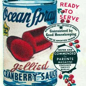 Ocean Spray is listed (or ranked) 2 on the list The Most Nostalgia-Inducing Thanksgiving Brands