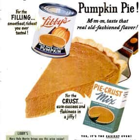 Libby's is listed (or ranked) 9 on the list The Most Nostalgia-Inducing Thanksgiving Brands