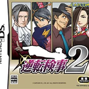 Ace Attorney Investigations: M is listed (or ranked) 2 on the list The Best Ace Attorney Games