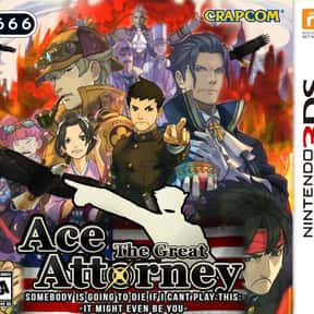 The Great Ace Attorney: Advent is listed (or ranked) 10 on the list The Best Ace Attorney Games