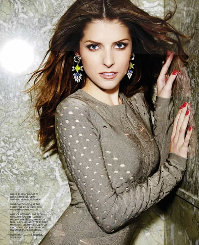 Anna Kendrick Cover Girl For T Is Listed Or Ranked 2